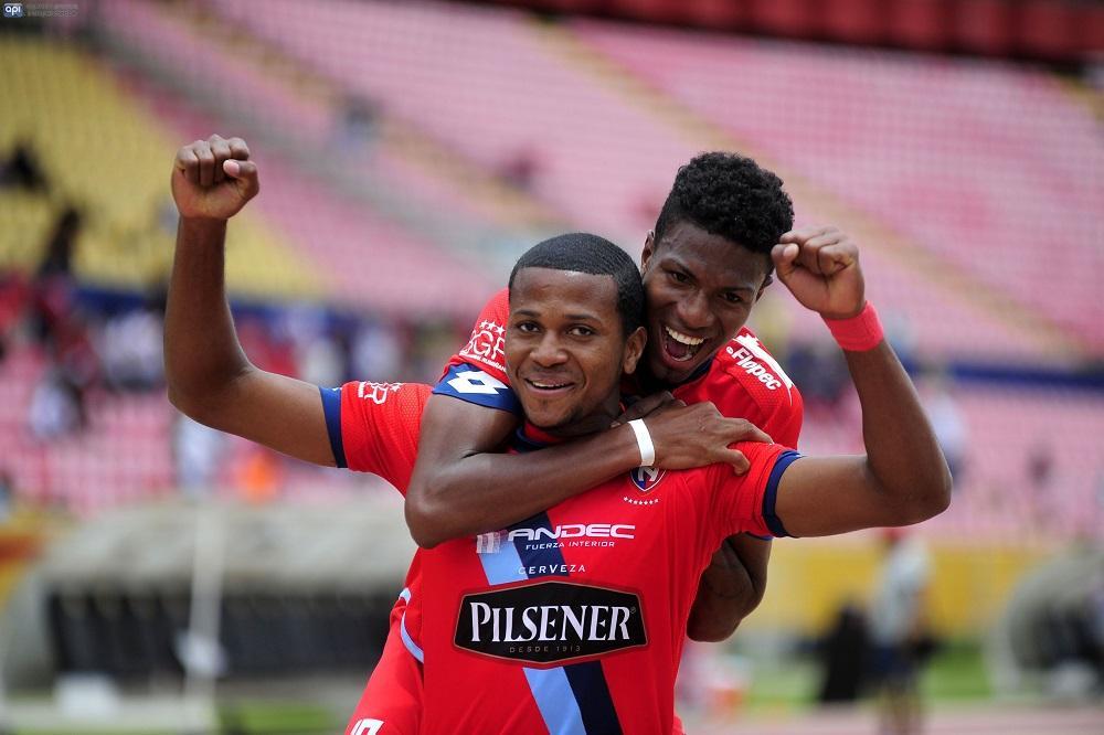 El Nacional vence por 5-2 a Delfín SC en el Atahualpa
