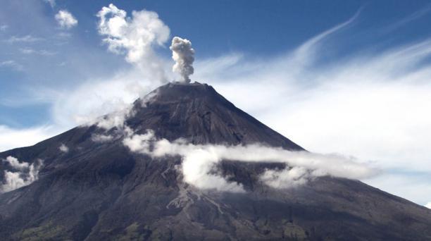 Instituto Geofísico informa sobre incremento de actividad sísmica del volcán Tungurahua