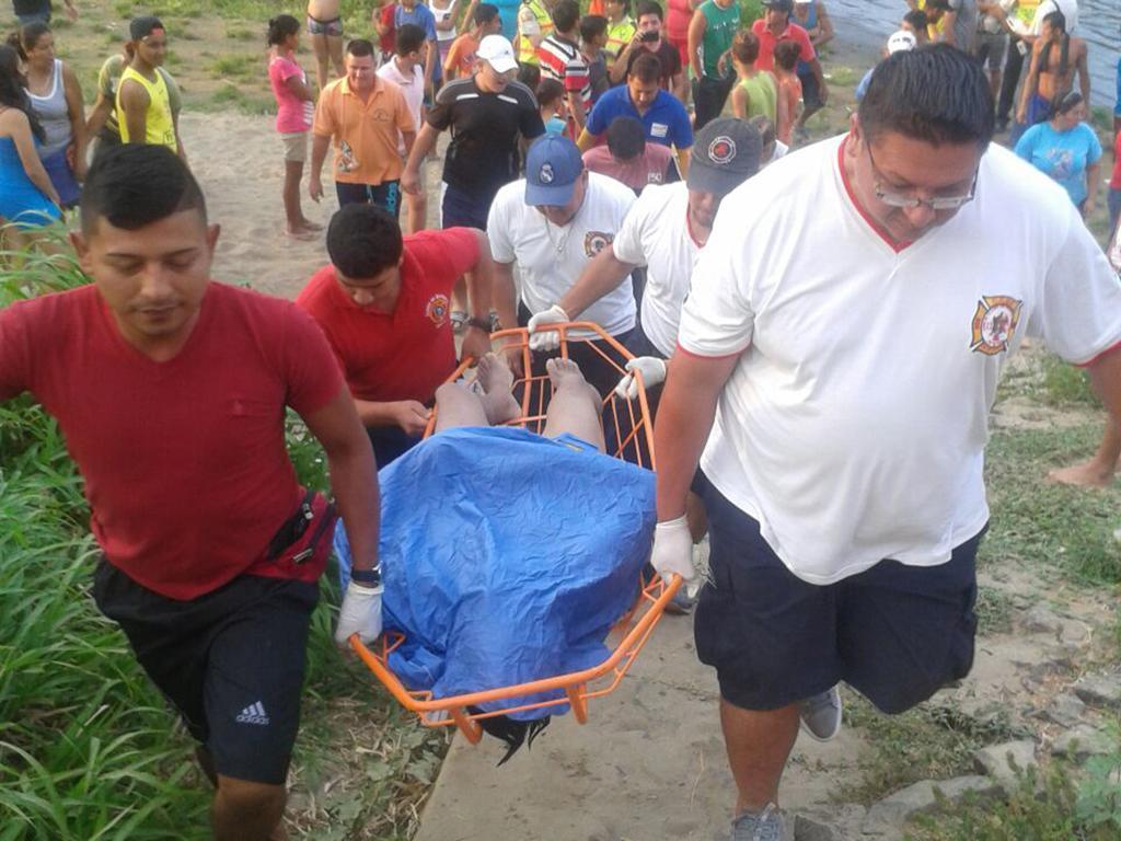 Quiteños se ahogan en la represa de Santa Ana, Manabí