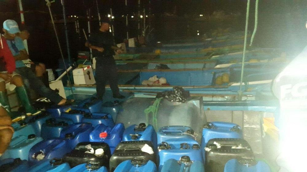Retienen barco con exceso de combustible en la Isla de La Plata