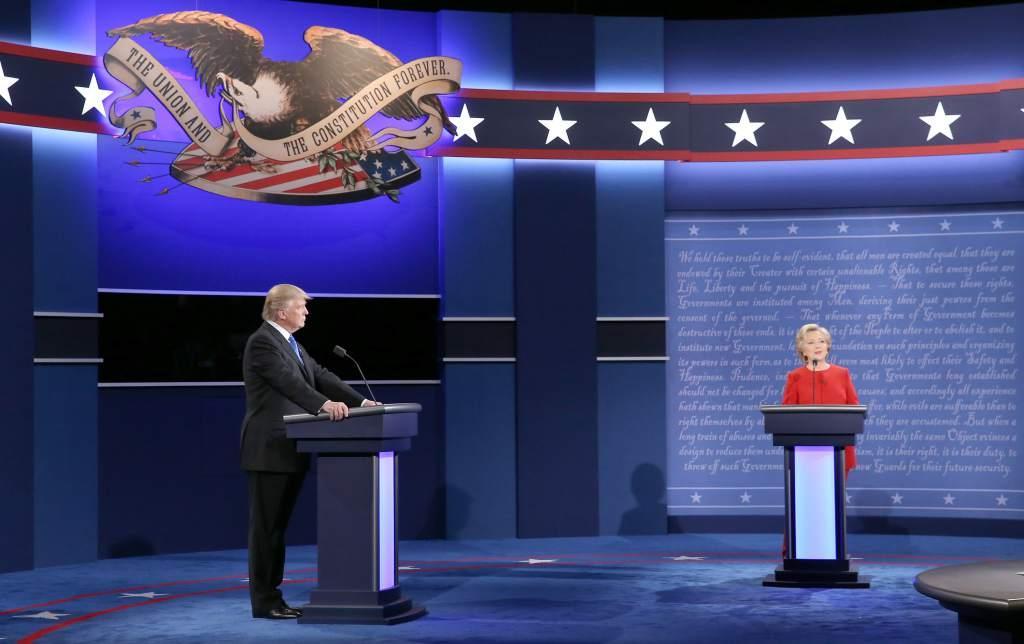 Trump menciona a México en la primera frase de su primer debate presidencial