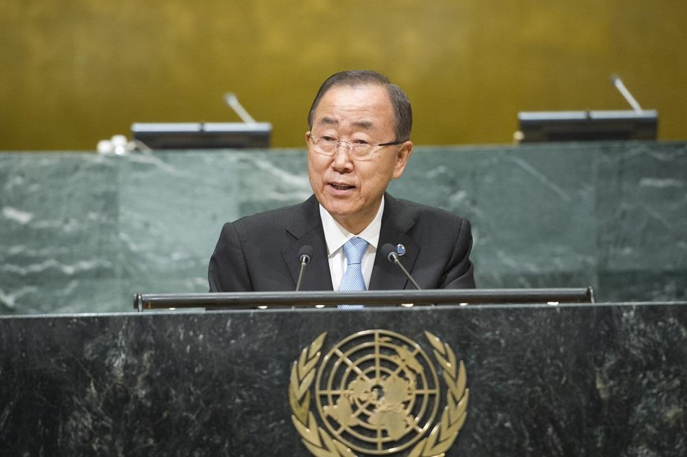 Ban Ki-moon llega a Cartagena para la histórica firma de la paz en Colombia