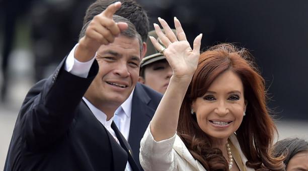Ex Presidenta de Argentina arribará el jueves a Ecuador cumplir agenda