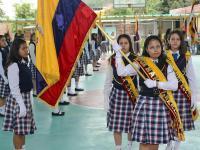 Rinden lealtad a la Bandera Nacional