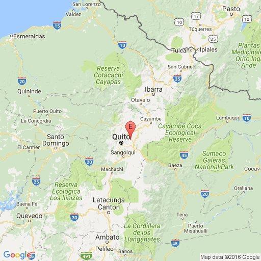 Sismo de 3,2 grados sacudió a Quito esta madrugada