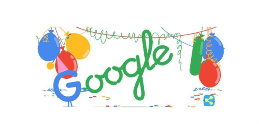 ¡18 AÑOS! Google celebra su mayoría de edad