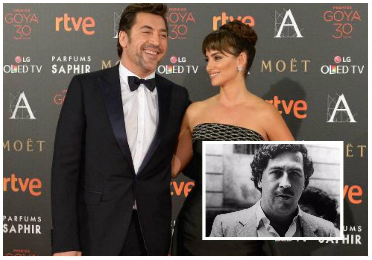 El 24 de octubre inicia rodaje del filme 'Escobar', con Javier Bardem y Penélope Cruz