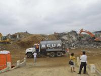 De hospital a pila de escombros