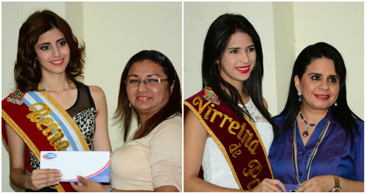 Realizan la entrega oficial de premios a la reina y virreina de Portoviejo