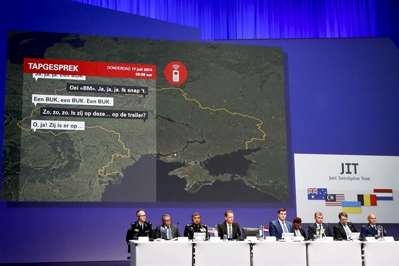 El vuelo MH17 fue abatido por un misil Buk llevado de Rusia a Ucrania