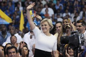 Cynthia Viteri es proclamada candidata presidencial de La Unidad