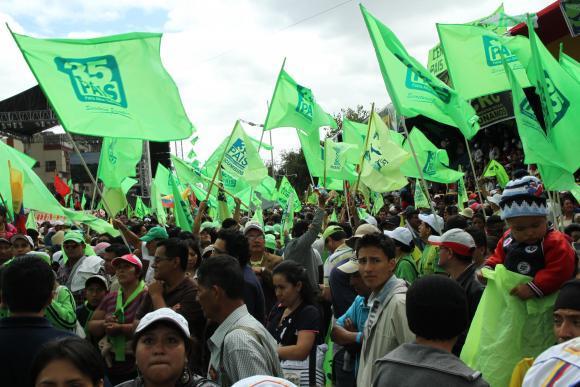 Alianza Pais anunciará el nombre de su candidato presidencial en su convención nacional