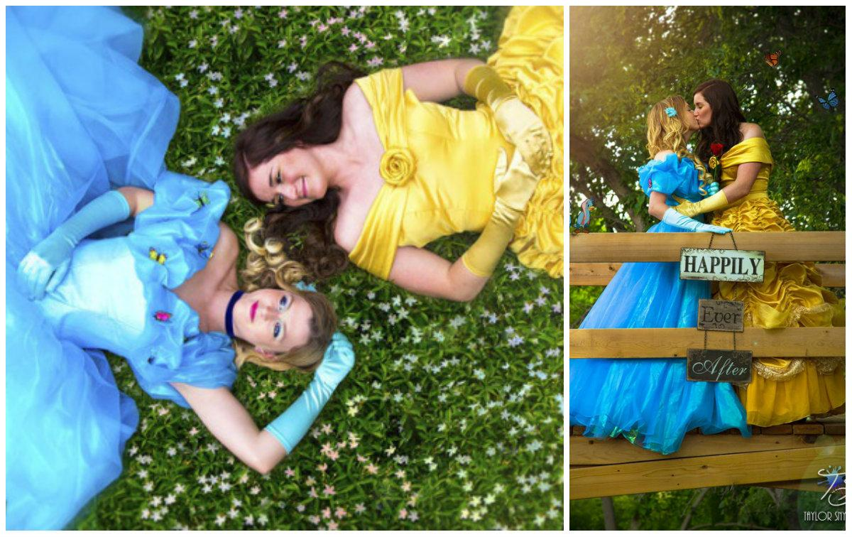 'La Bella' y 'La Cenicienta' anuncian su casamiento con estas virales fotos