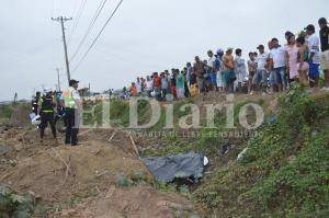 Un muerto y un herido deja accidente en la vía Chone-Canuto