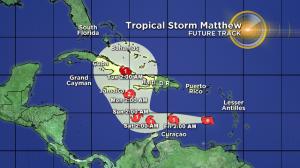El huracán Matthew desciende a categoría 4 y se mantiene alerta para Jamaica