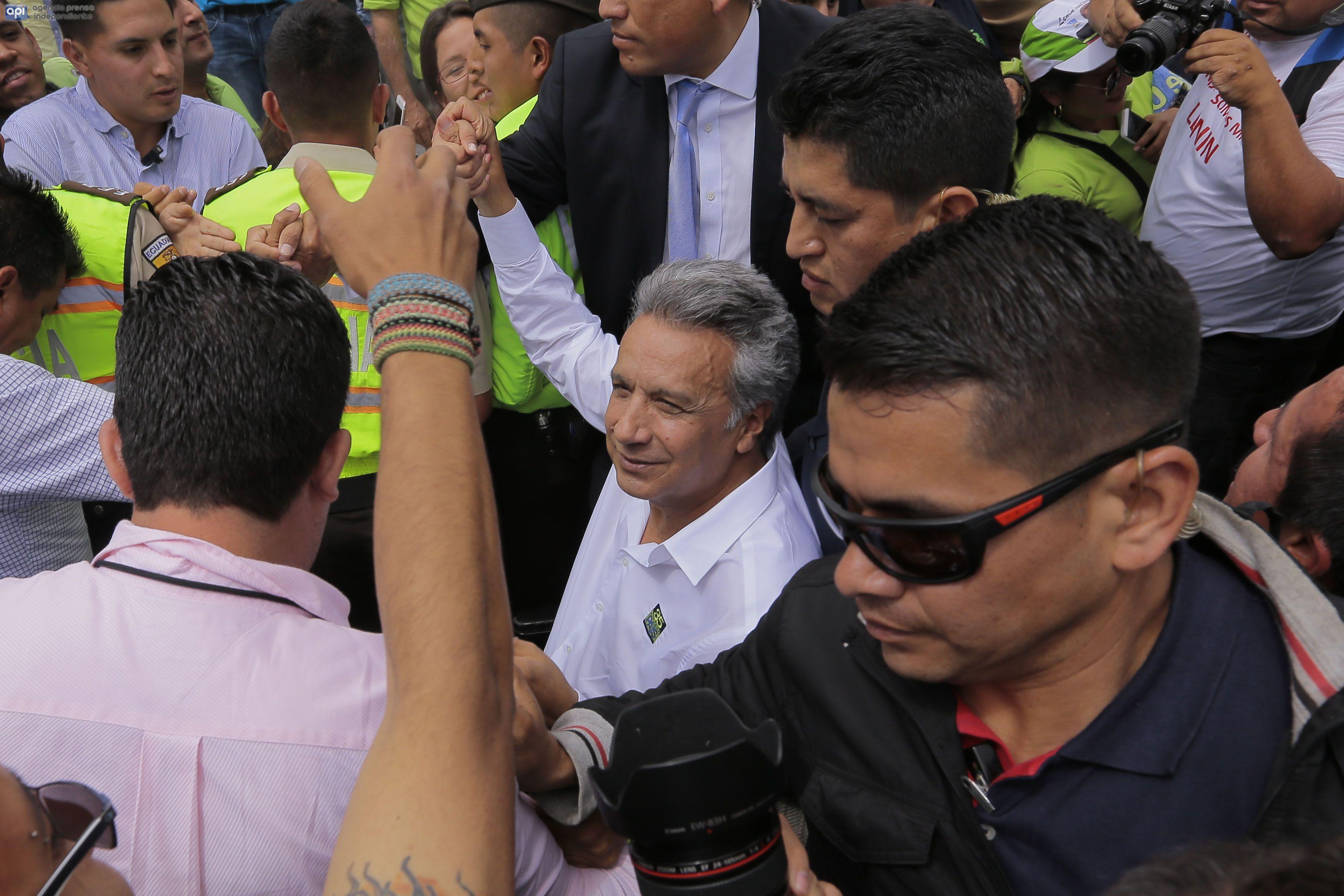 Lenin Moreno y Jorge Glas, el binomio de Alianza PAIS para el 2017