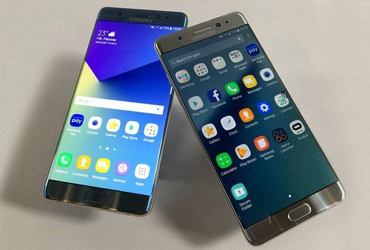 Samsung examinará el Note 7 incendiado en un avión de EE.UU.