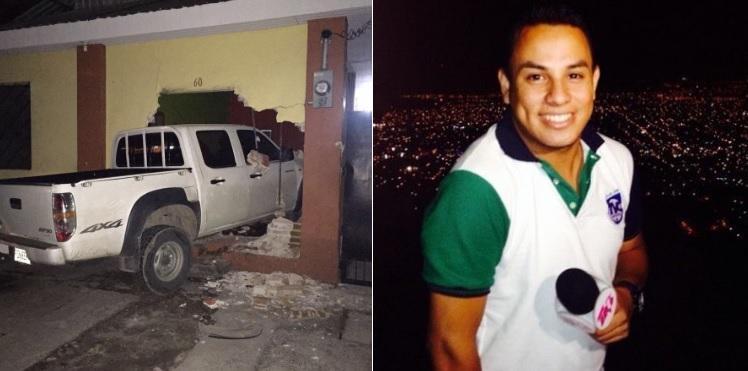 Periodista resulta herido en atentado mientras cubría un accidente de tránsito
