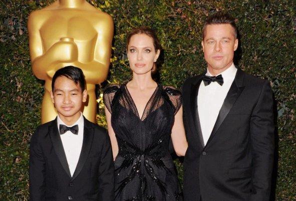 Brad Pitt se reúne con su hijo Maddox y Jolie es entrevistada por el FBI