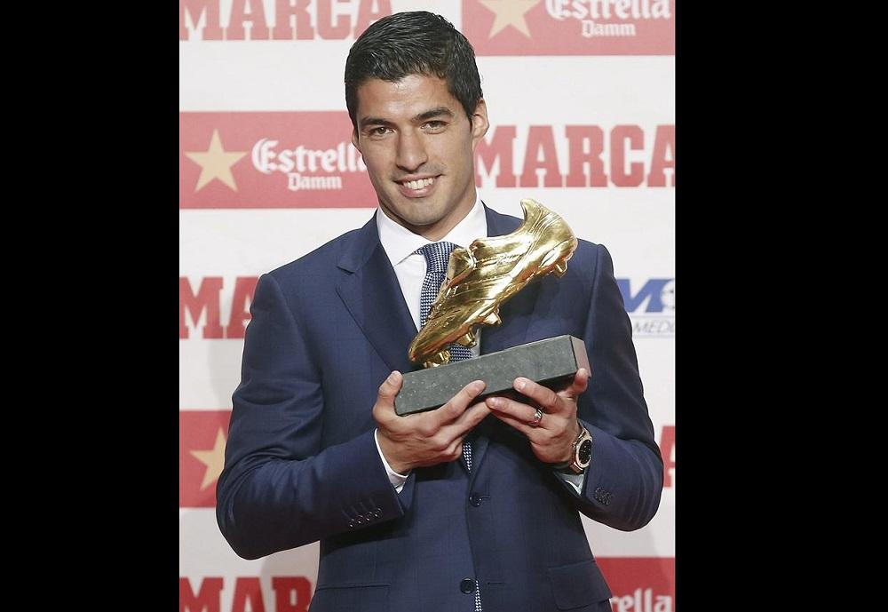 Luis Suárez gana su segunda Bota de Oro y piensa en ganarlo todo esta temporada