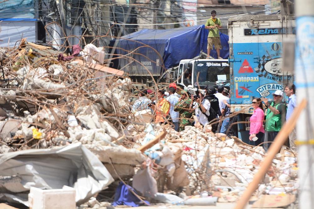 Ecuador ha asignado 1.589 millones dólares para zonas afectadas por terremoto