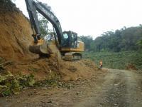 Inician los trabajos para la construcción de la vía San Luis de Cajones