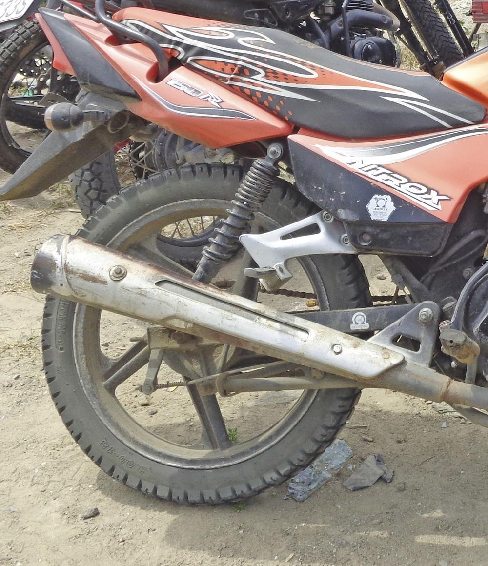 Motociclista resulta herido en accidente de tránsito en Manta
