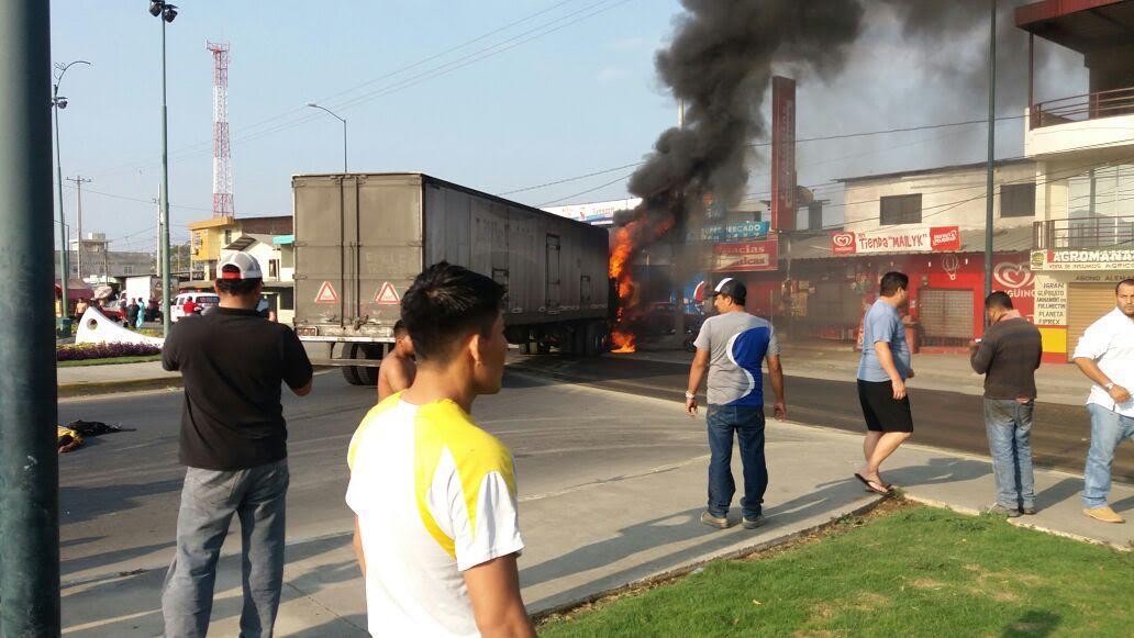 Un muerto y un herido deja accidente de tránsito en la vía Portoviejo-Crucita