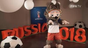El lobo 'Zabivaka' es elegido mascota oficial del Mundial de Rusia 2018