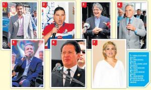 Hay 7 presidenciales para 2017, sólo uno ha definido su binomio