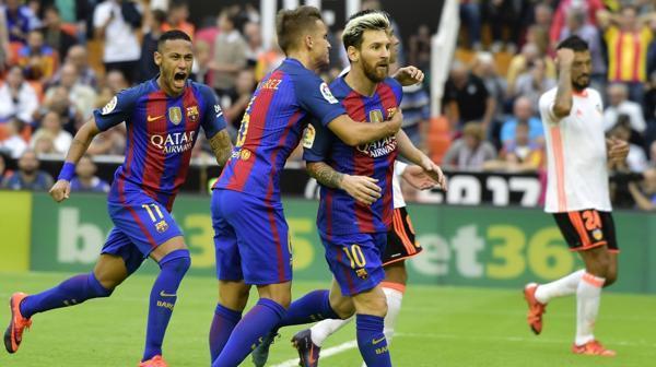 El escandaloso final en la victoria del Barcelona ante el Valencia