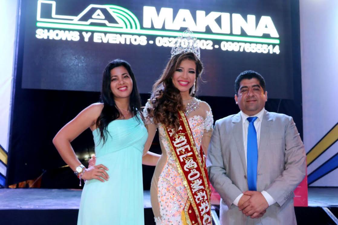 Gabriela Murillo es la nueva reina del Comercio de Pedernales