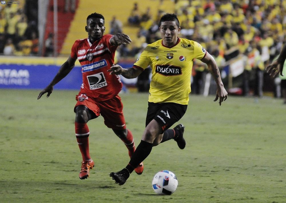 Barcelona SC gana 1-0 a River Ecuador y se mantiene con ventaja en la punta