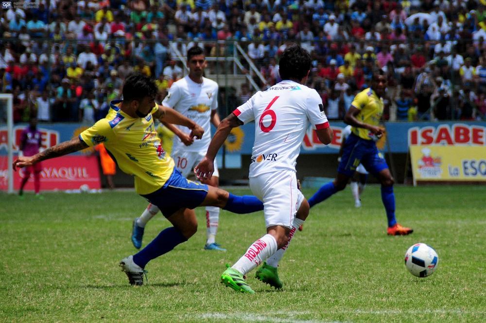 Liga de Quito se llevó los tres puntos del Jocay al ganarle al Delfín 1-0