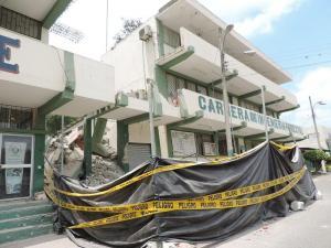 Inician los trabajos de reconstrucción en los edificios de la Unesum