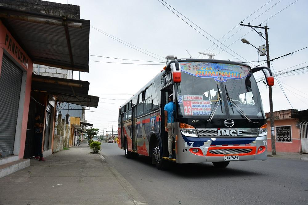 Rutas de transporte urbano ya fueron establecidas