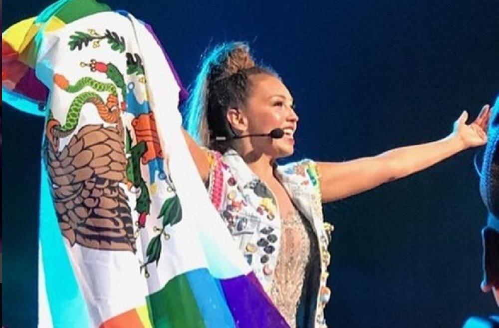 Thalía criticada por su pasado con Donald Trump