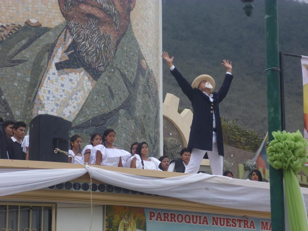 Con una marcha blanca Montecristi recordó 196 años de emancipación política