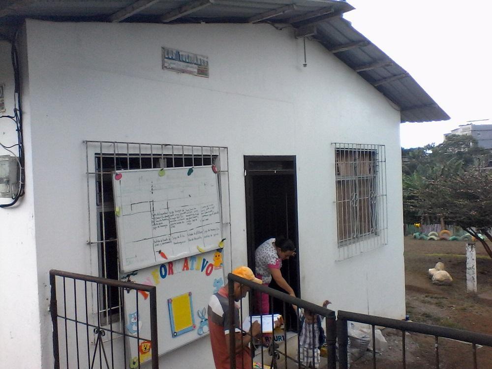 Ladrones ingresan a un CIBV del cantón El Carmen y se llevaron hasta el papel higiénico