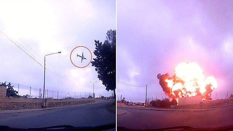 Cinco franceses mueren tras la caída de una avioneta en un aeropuerto de Malta