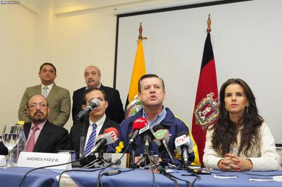 Asambleísta Páez anuncia apoyo a la candidatura presidencial de Guillermo Lasso