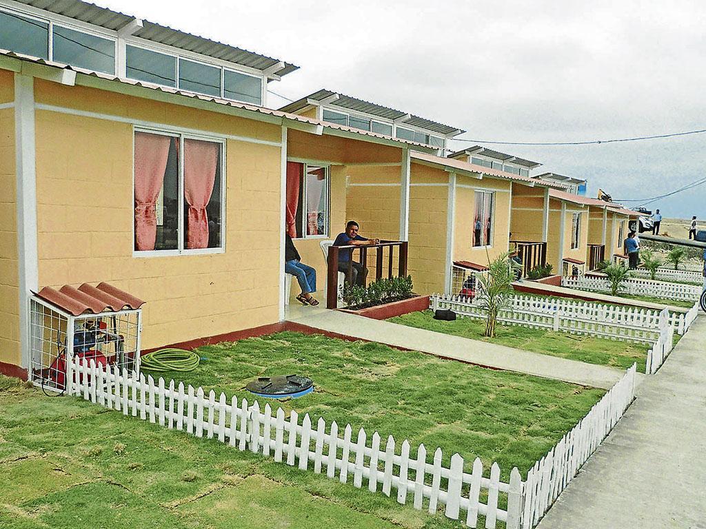 Entregaron casas para discapacitados en Ceibo Renacer de Manta