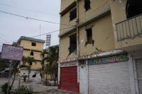 La soledad se tomó 'Los Almendros' tras el terremoto del 16A