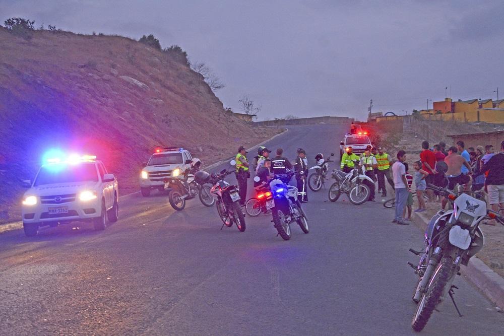 Heridos en accidente de tránsito son dados de alta