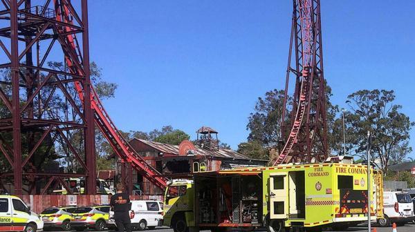 Trágico accidente deja cuatro muertos en un parque de diversiones de Australia