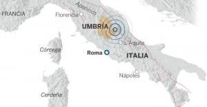 Nuevo terremoto de 6 grados sacude a Italia, tras primer sismo de 5,4