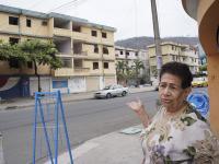 La soledad reina en Los Almendros tras el 16A