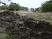 Más equipo para el desazolve de 46 km del río Portoviejo