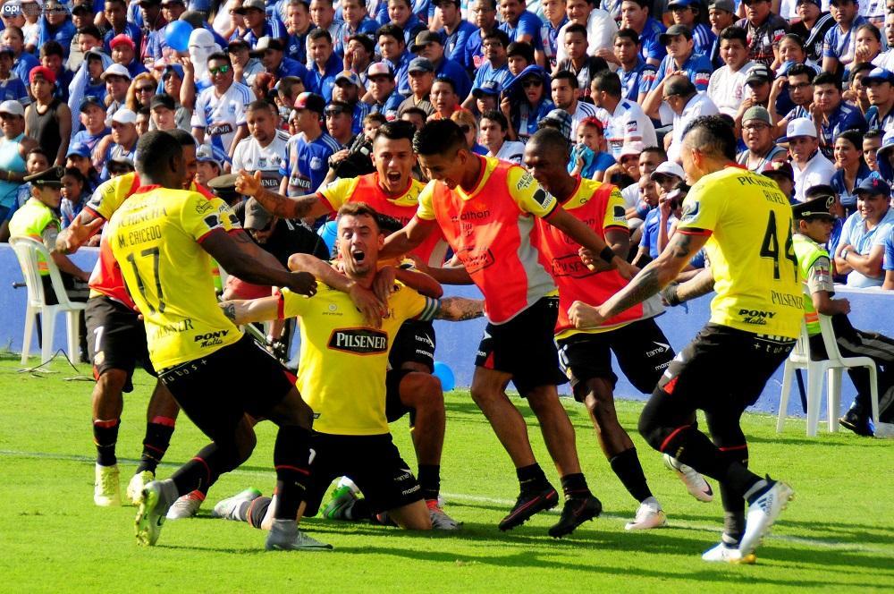 Barcelona SC vence por 0-1 a Emelec en el Capwell