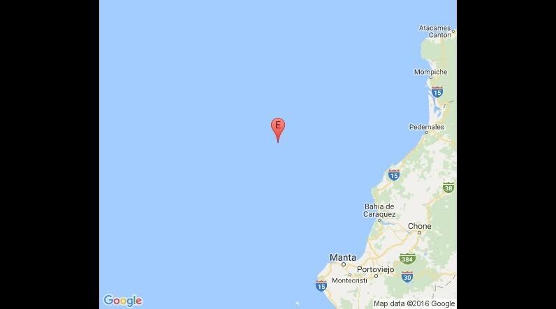 Un sismo de 4 grados sacude las costas del cantón Jama